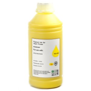 Чернила Inko Professional (1KG) для HP DesignJet Z2100, Z3100, Z3200 (HP 70) PIGMENT YELLOW