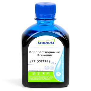 Чернила Moorim (250g) HP 177 (C8774HE) Light Cyan